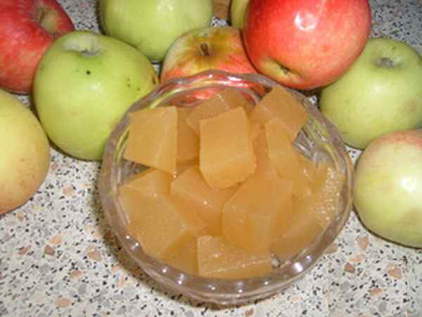 Мармелад яблочный в домашних условиях
