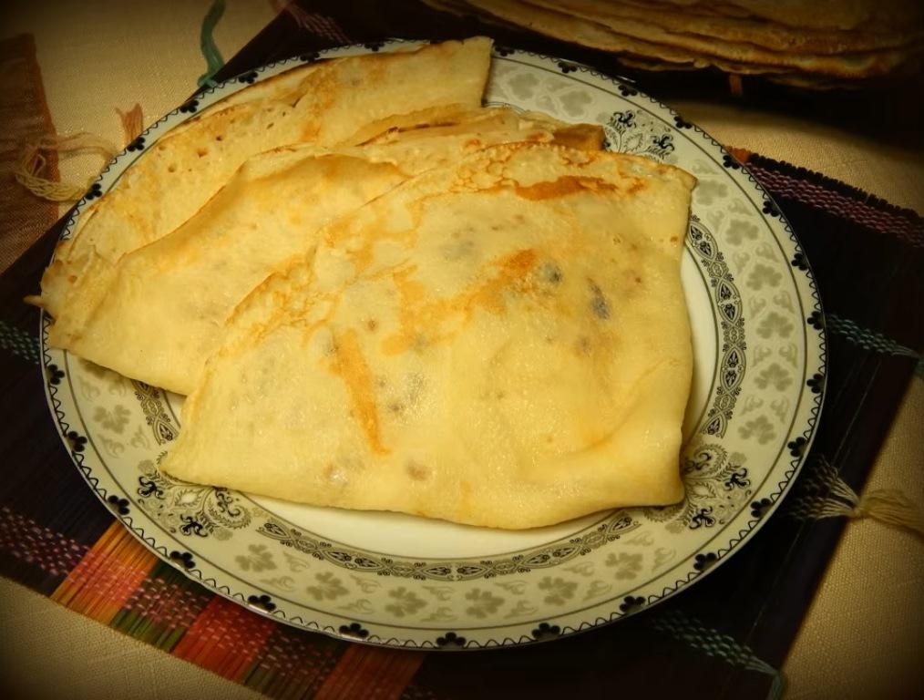 Вкусные блинчики на молоке с дырочками рецепт пошагово с