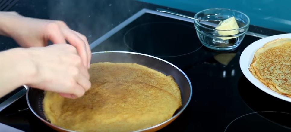 Как приготовить блинчики на кефире пошаговый рецепт
