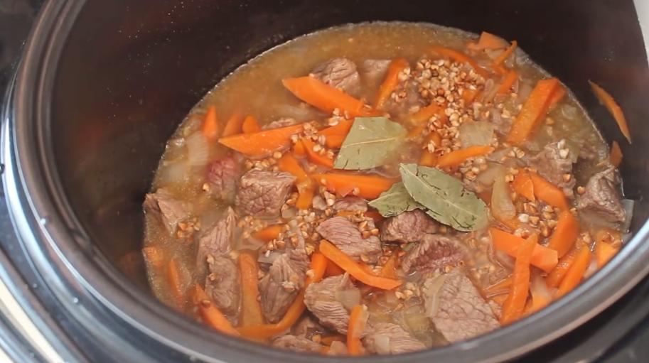 Как приготовить гречневый суп в мультиварке с мясом пошаговый рецепт с
