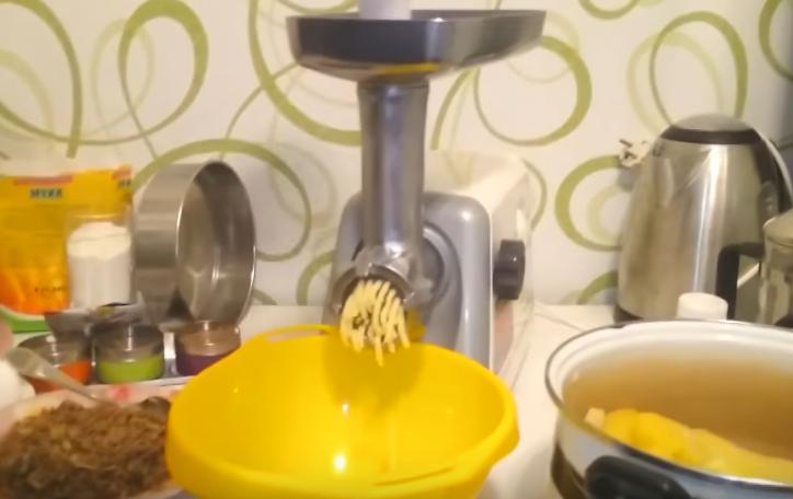 Приготовление пюре